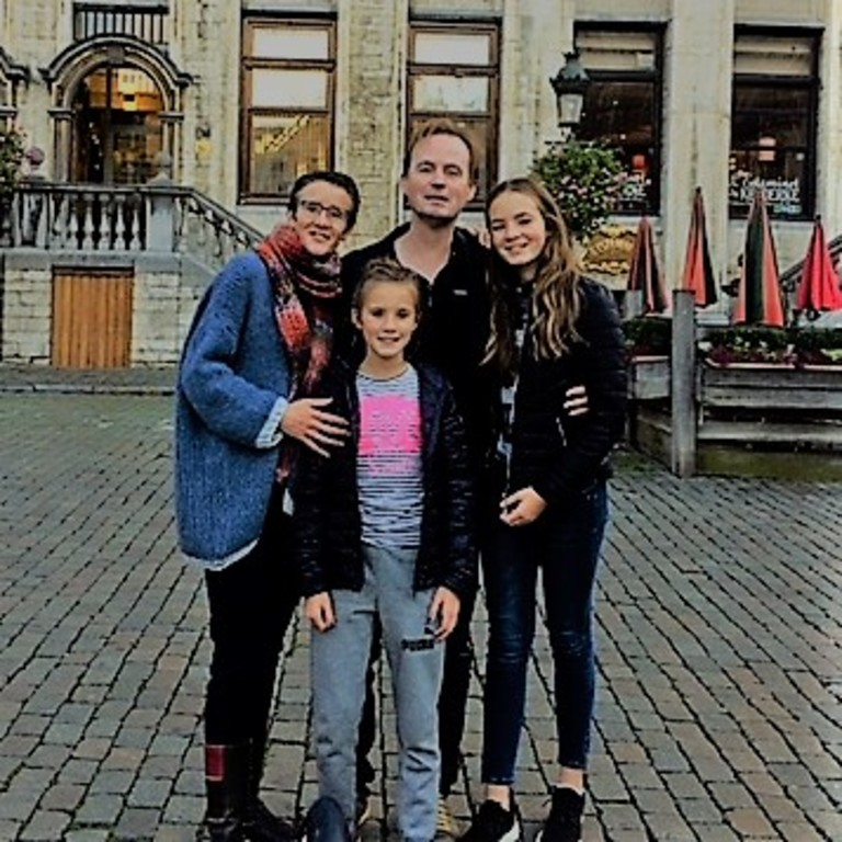 Family City trip in Brussels in 2016