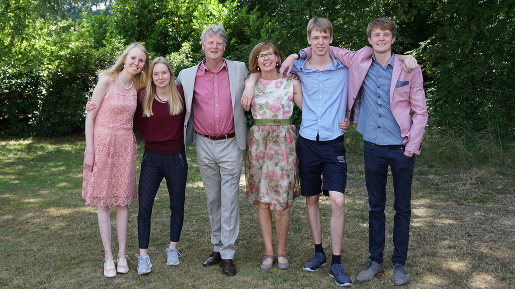 Our family at our 25th wedding anniversary!