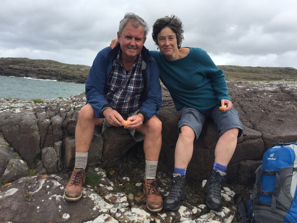Sandra & Ray in the west of Ireland 2017
