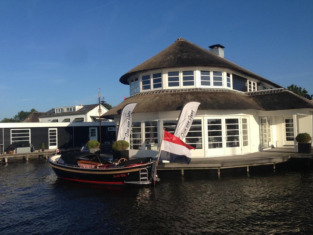 Sailing at Loosdrecht