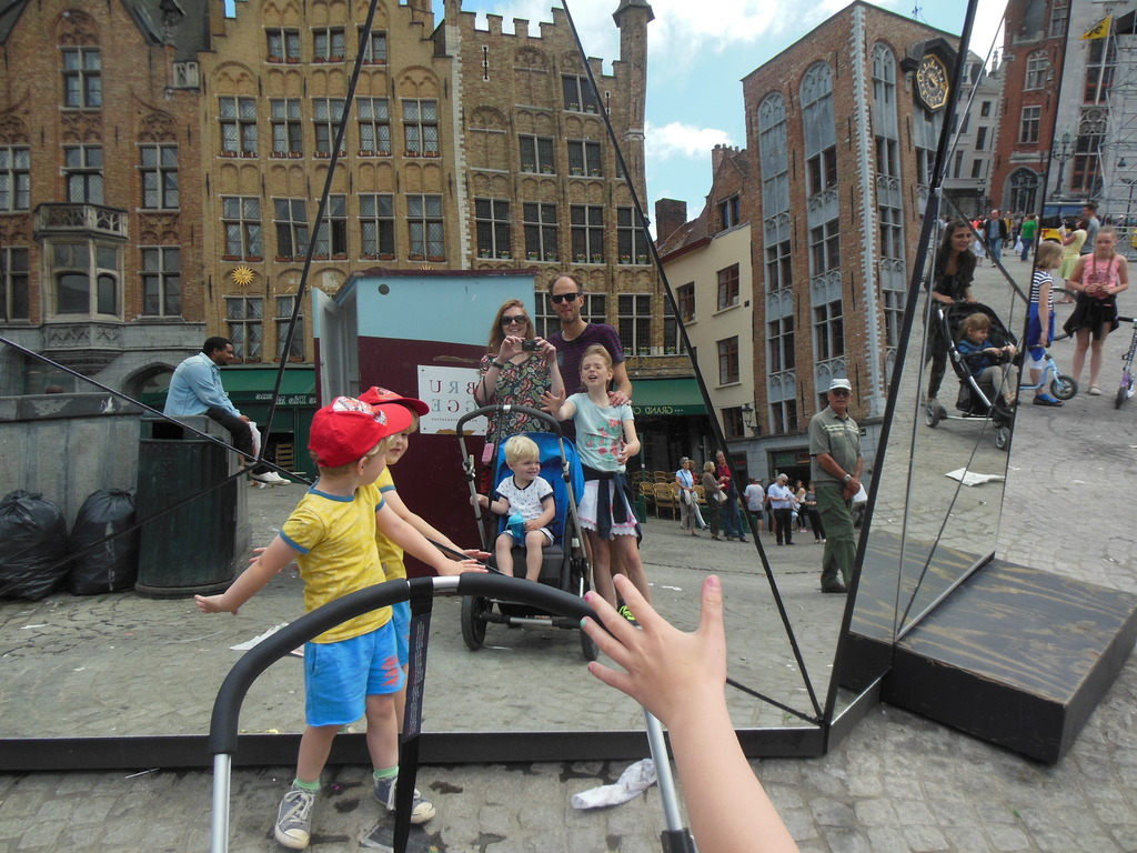 Our family in the summer of 2015 - Exchange with Belgium
