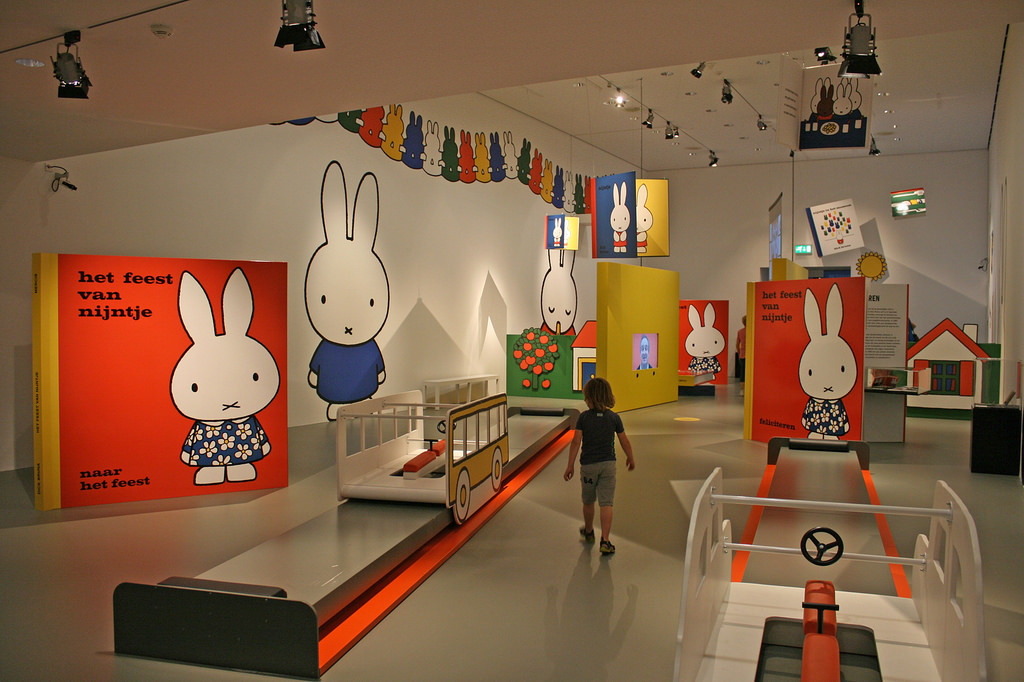 Miffy museum in Utrecht - 20 min by bike