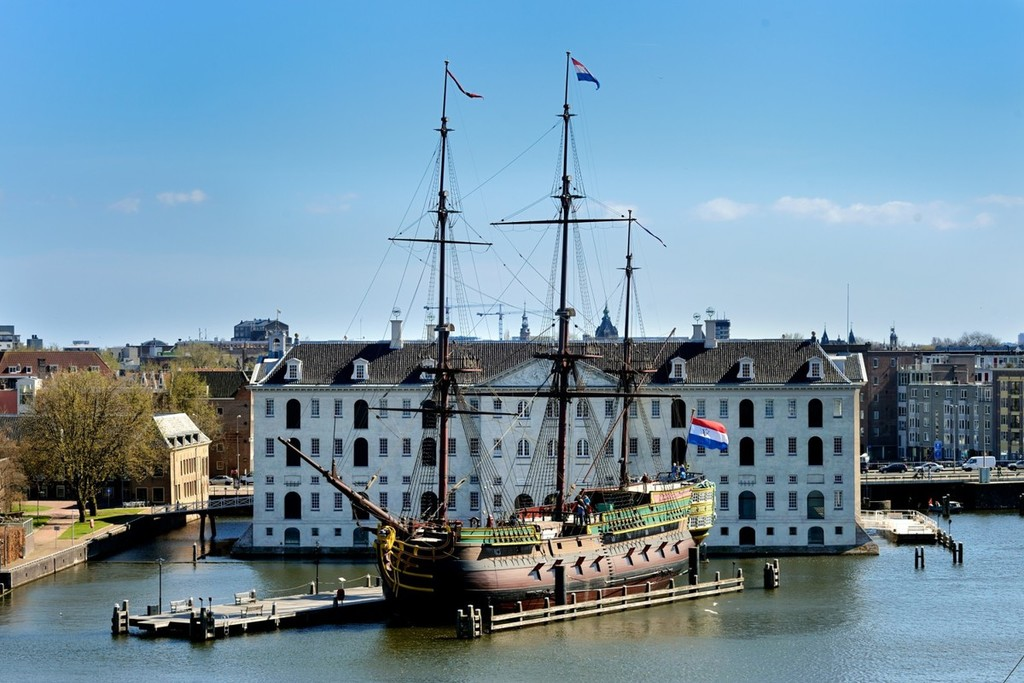 Shipping museum in Amsterdam - 45 min by car / 1 h by public transport