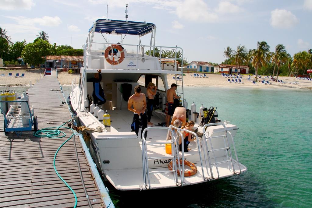 Diving Maria de la Gorda Cuba