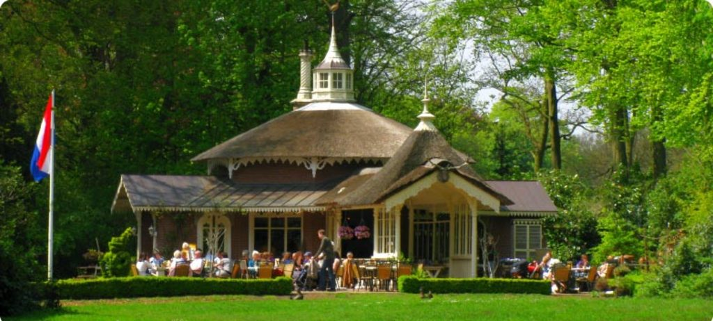 "Tea pavilion on the royal estate ""the horsten"""