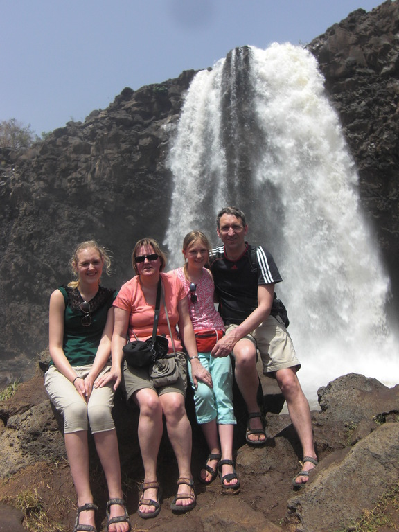 Our family in Ethiopie in 2013