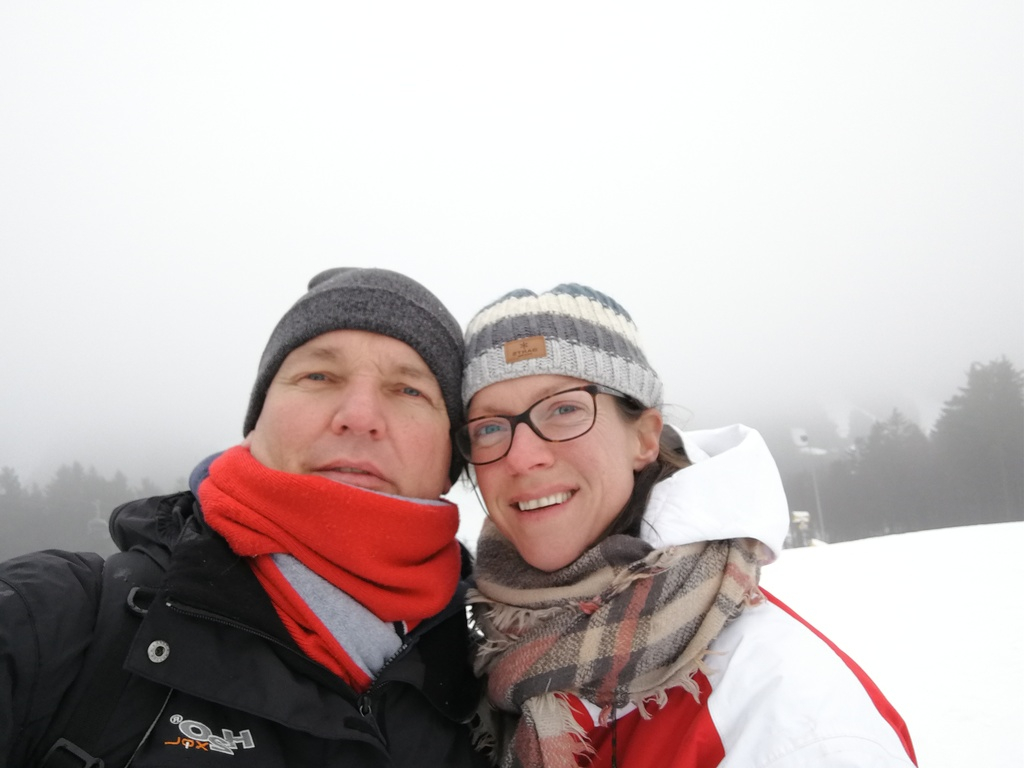 Benno and Wiesje In Winterberg Germany. (2019)