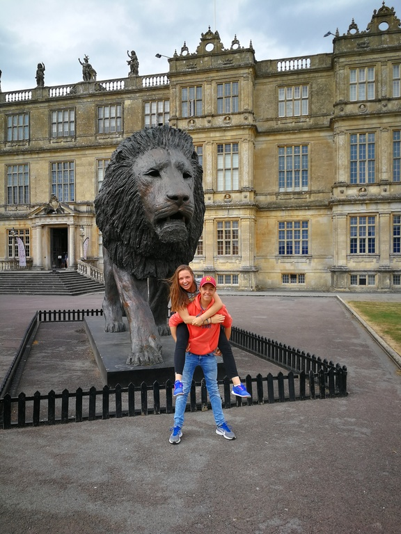 Joost and Merel in Longleat England, great Brittain (2018)