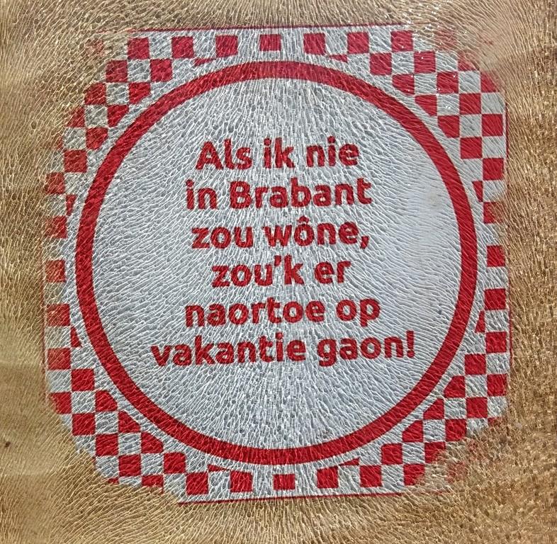 Als ik niet in Brabant zou wonen, zou ik er op vakantie gaan