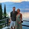 Raoul and Laura on holidays in Italy