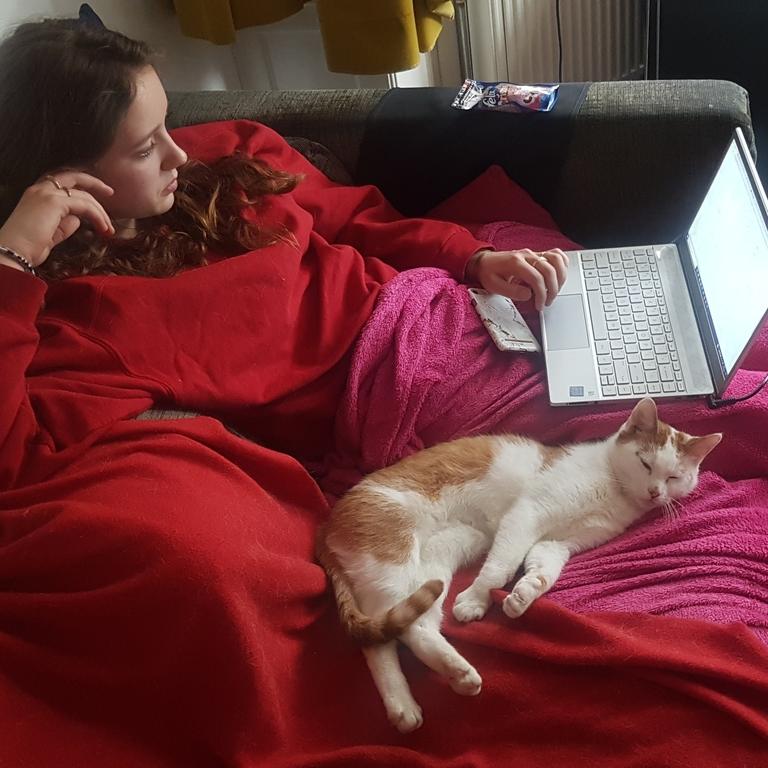 Olga with Piwi