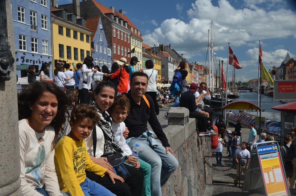 We in last holidays (Denmark 2015)