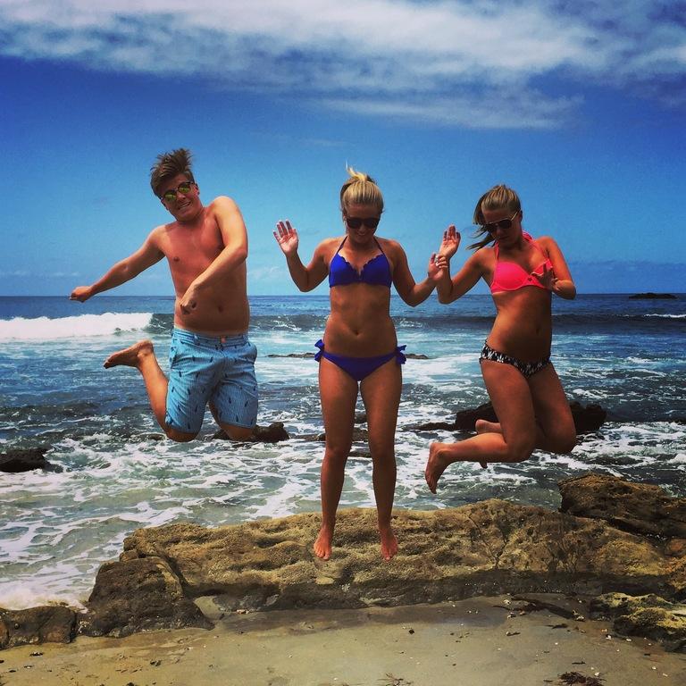 Axel, Olivia & Evelina, Laguna Beach 2015