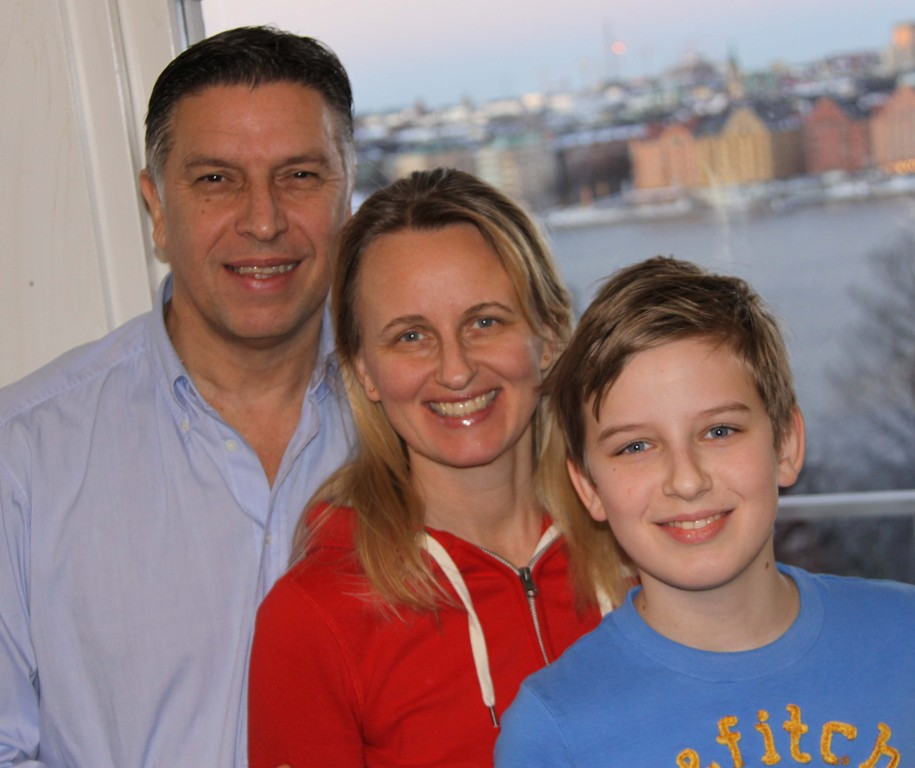 Stefan, Liselotte and Marcus 2013
