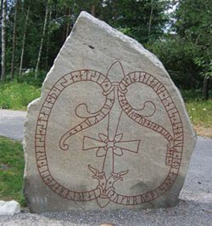 Rune stones - a lot in Täby