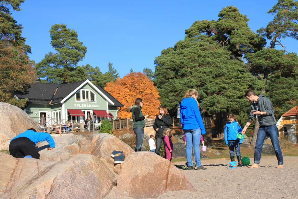 Stockholm Archipelago - Nearby beach - 20 minutes by car; with very good restaurant