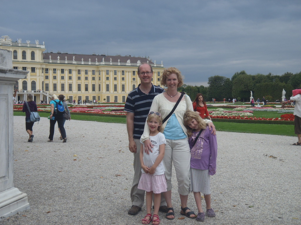 House exchange 2011. Two weeks in Vienna. Here at Schönbrunn castle.