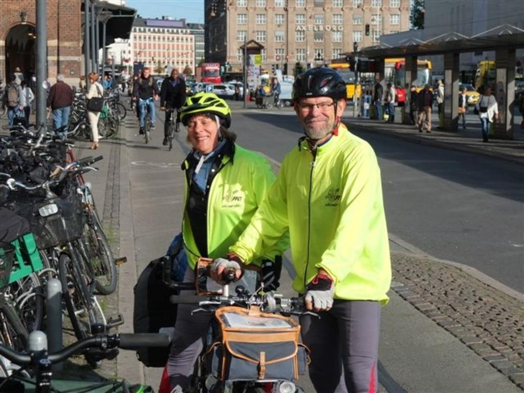 Nils and Eva at Copenhagen Central Station (2015)