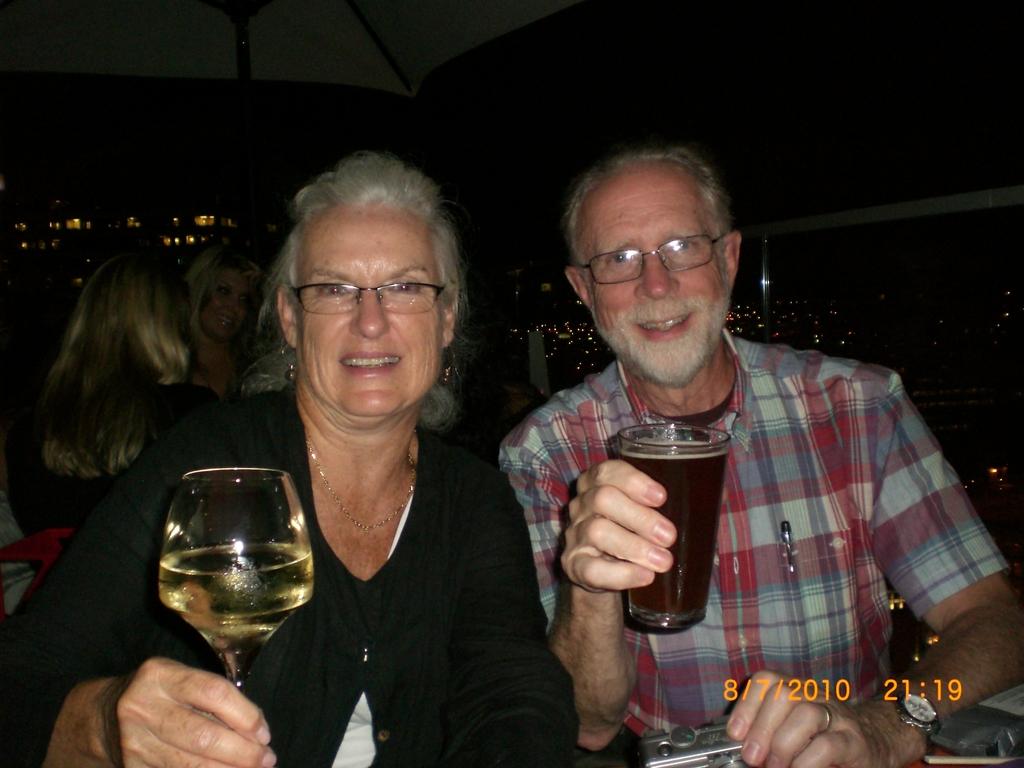 Joan & Dane Wells welcome you to Philadelphia.  Cheers!
