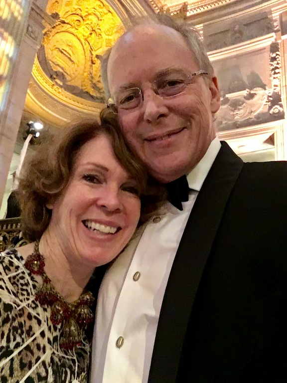 Kitty and Charles at the ballet gala