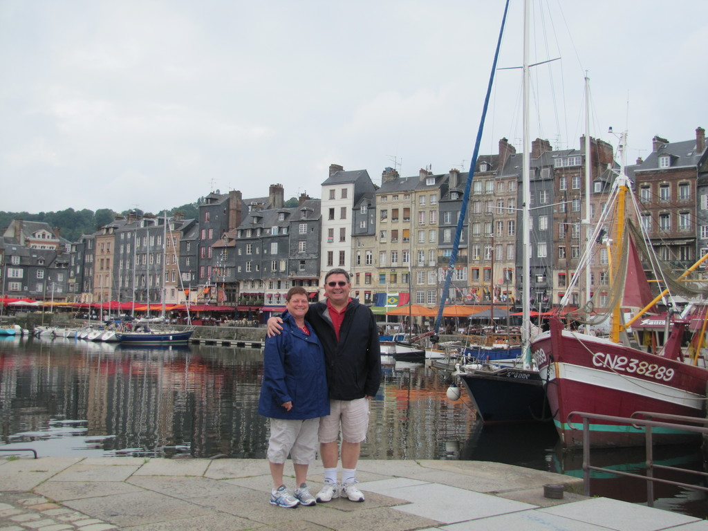 In Honfleur France