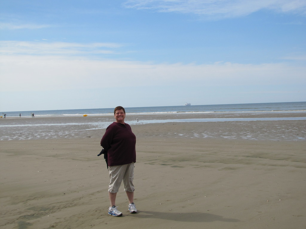 Visiting the beaches in Normandy