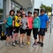 Our Sunday morning bicycle group.
