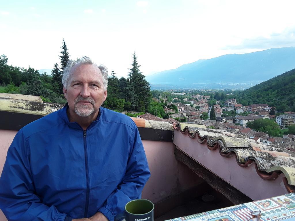 Bob in Introdaqua, Italy.