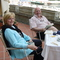 Bob and Liz Lamson, Owners.  Relaxing at Lago di Como, Italy