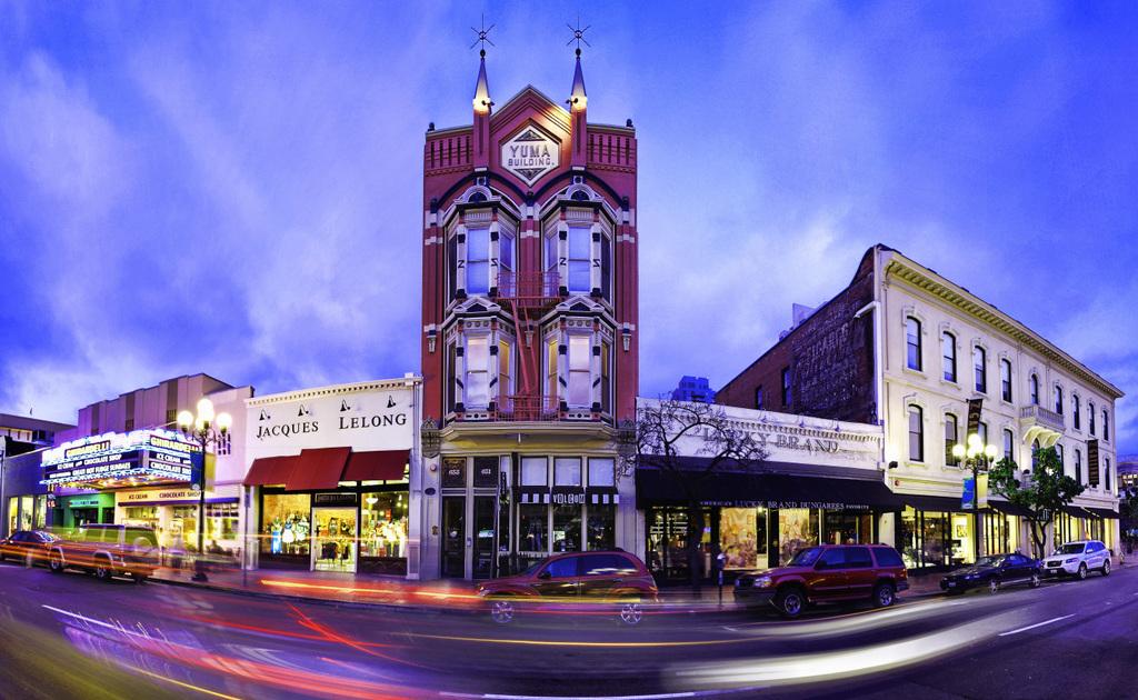 Downtown's Gaslamp Quarter