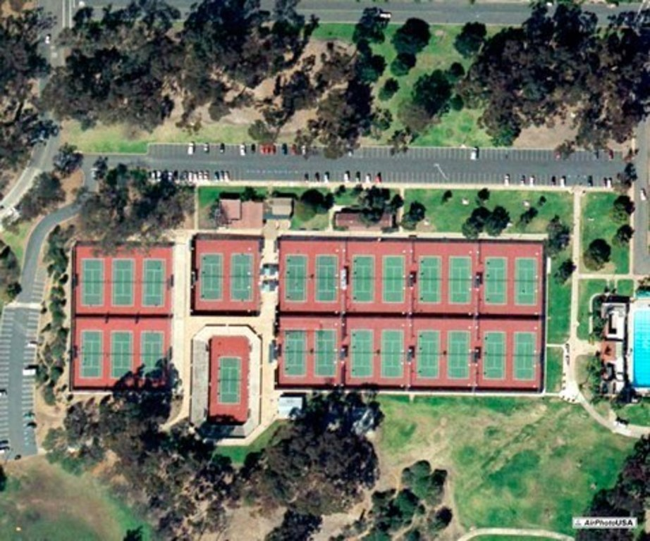 Tennis at nearby Balboa Park
