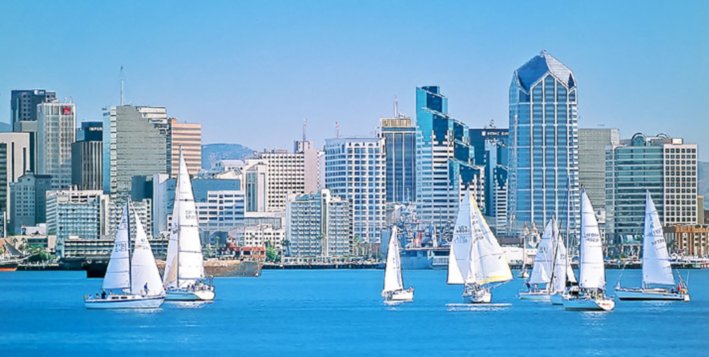 View of Downtown from Coronado.