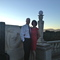 James and Jill at Hearst Castle