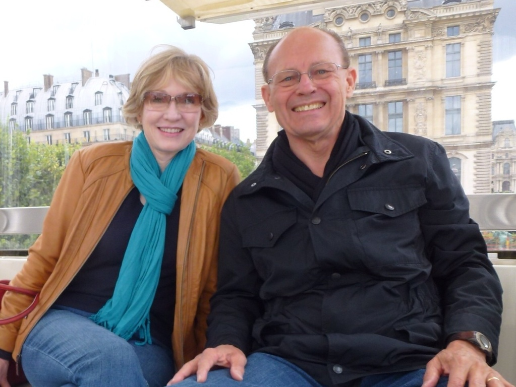 Patricia & Robert in Paris.
