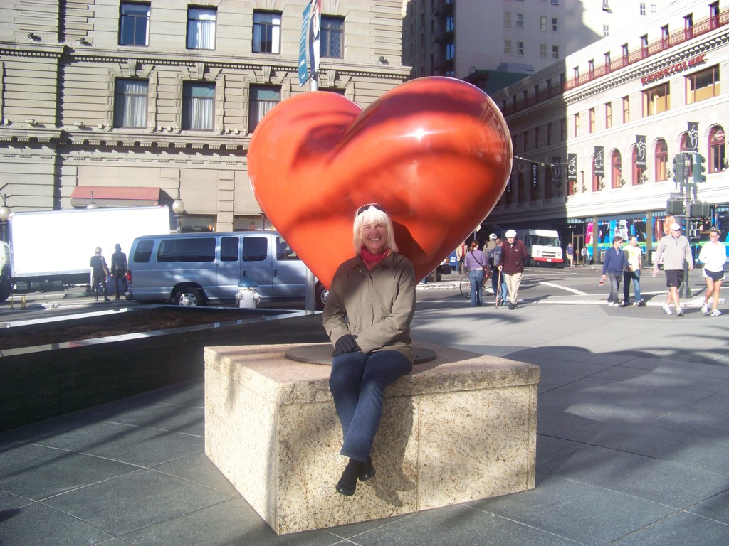 Me in front of the heart of San Francisco.