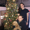 2017 Xmas tree with my kids and puppy