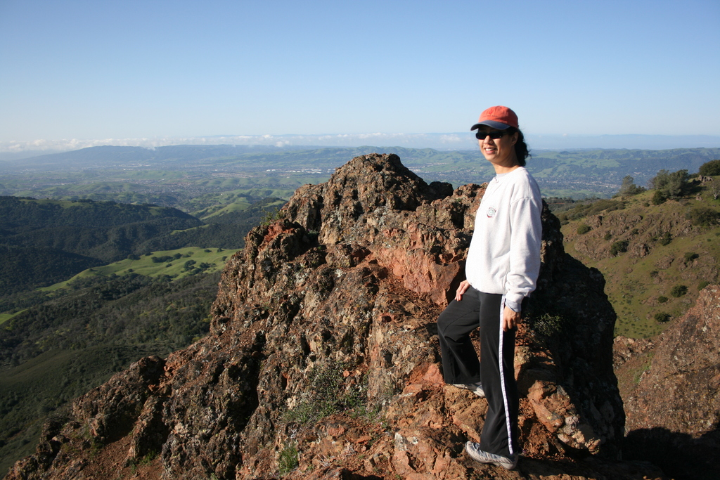 Mount Diablo State Park hiking and biking, 15 minute drive