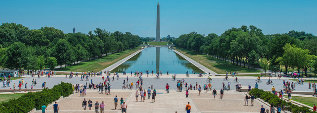 Reflecting Pool on the mall.