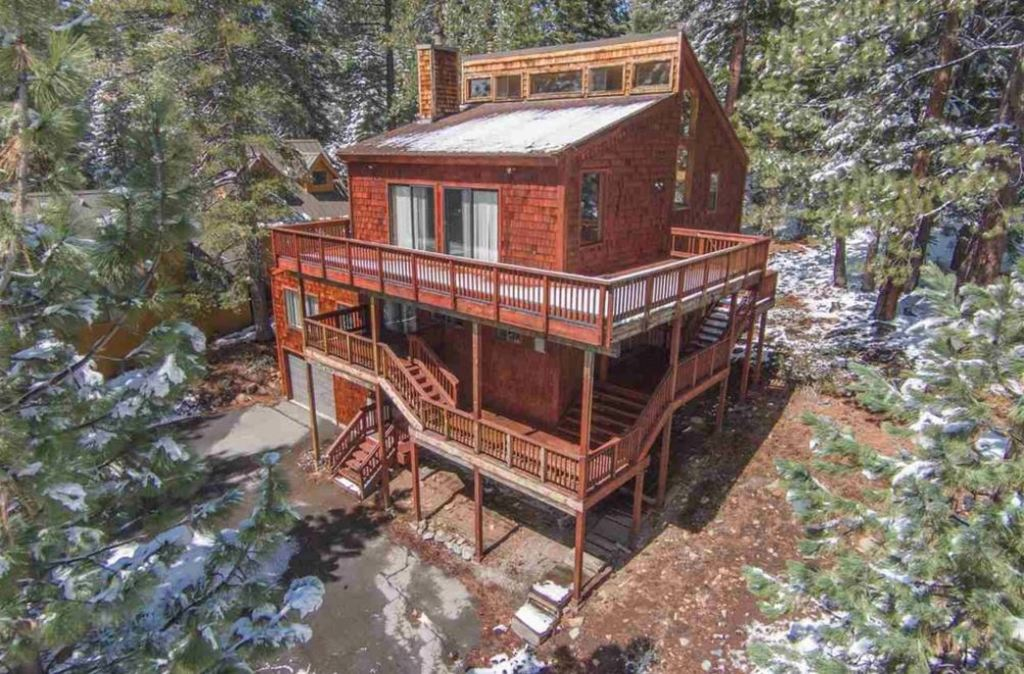 NW Aerial 12003 Lausanne Way Tahoe Donner 96161